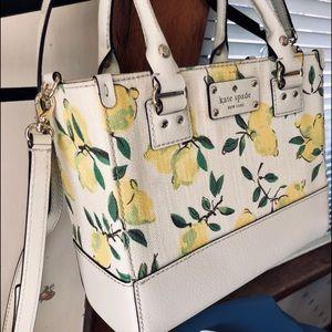 🆕EUC Kate Spade Wellesley Painterly Lemon  RARE